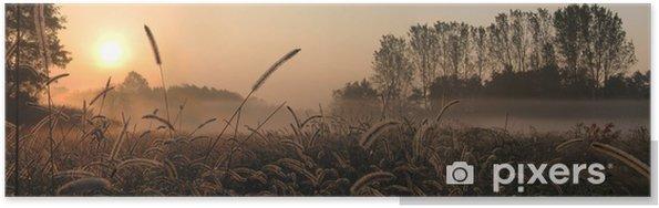 Plakat Alba - Krajobraz wiejski
