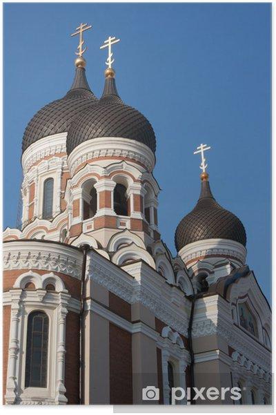 Plakát Alexandra Něvského katedrála - Evropa