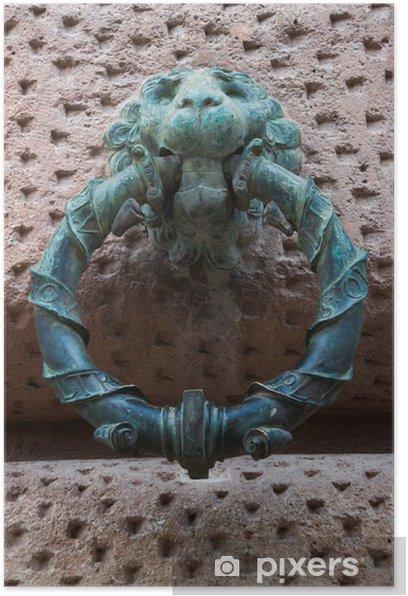 Plakat Alhambra w Granadzie pierścieni - Zabytki
