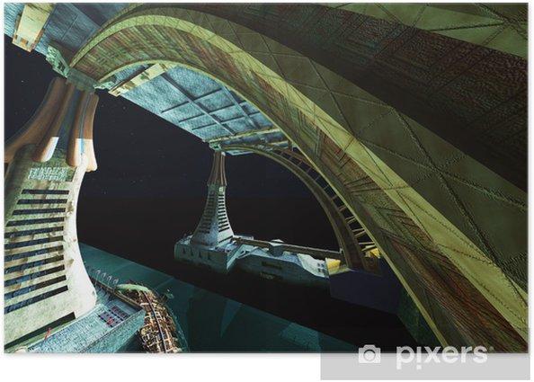 Plakat Alien city - Inne