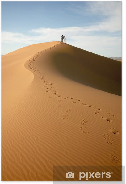 Plakat Alone in the Desert - Pustynia