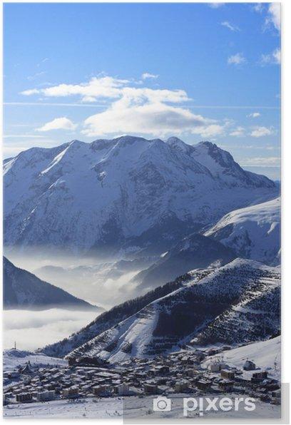 Plakat Alpe d'Huez - Wakacje