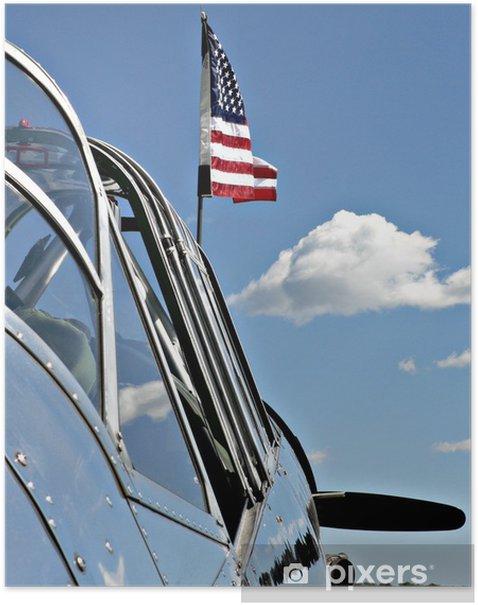Plakat American Heroes - Transport powietrzny
