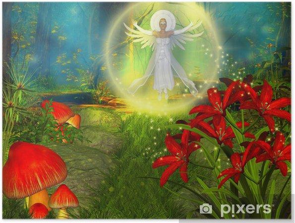 Plakat Anioł - Ezoteryka