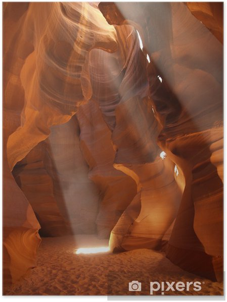 Plakat Antelope Canyon - Ameryka
