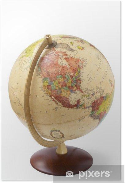 Plakát Antique globe - Věda