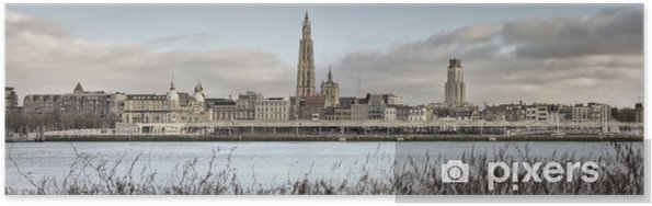 Plakat Antwerp City Panorama (o wysokiej jakosci) - Tematy
