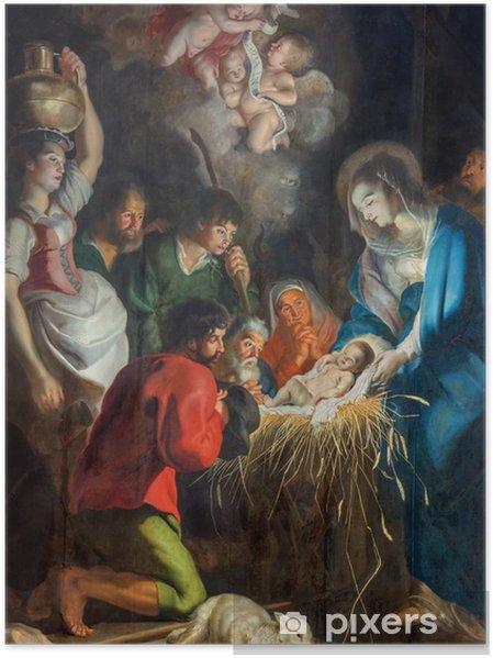 Plakat Antwerpia - Szopka w kościele św Pauls (Paulskerk) - Tematy