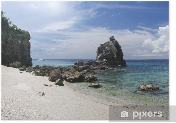 Plakat Apo miejsce nurkowe wyspa Filipin - Azja