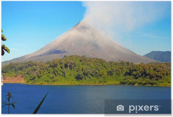 Plakat Arenal. Kostaryka - Ameryka