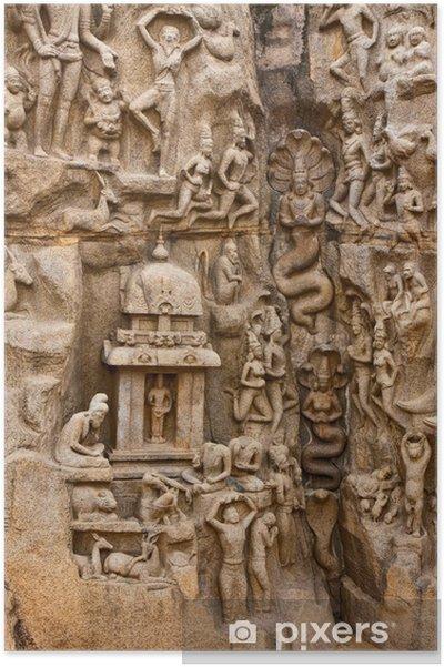 Plakat Arjuny Pomnik Pokuta - Azja
