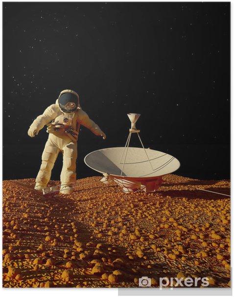 Plakát Astronaut - Témata