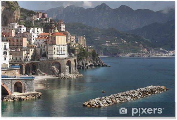 Plakat Atrani, Wybrzeże Amalfi - Tematy