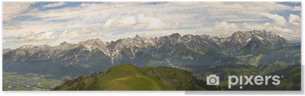 Plakat Austriacki panorama - Góry