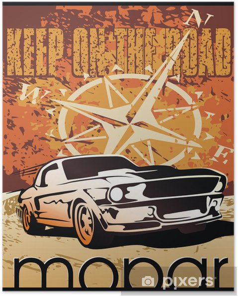 Plakát Automobil - Osud