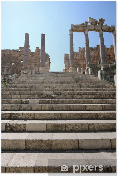 Plakat Baalbek, Liban - Tematy
