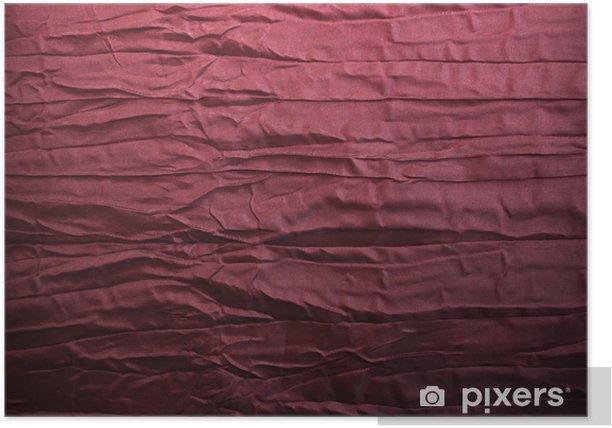 Plakat Background - materiał, wino czerwone, marszczone - Świętowanie