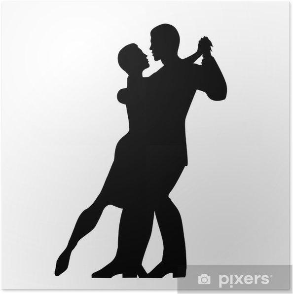 Plakát Bailando tango 12 - Zábava