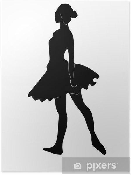Plakát Balet - Abstraktní