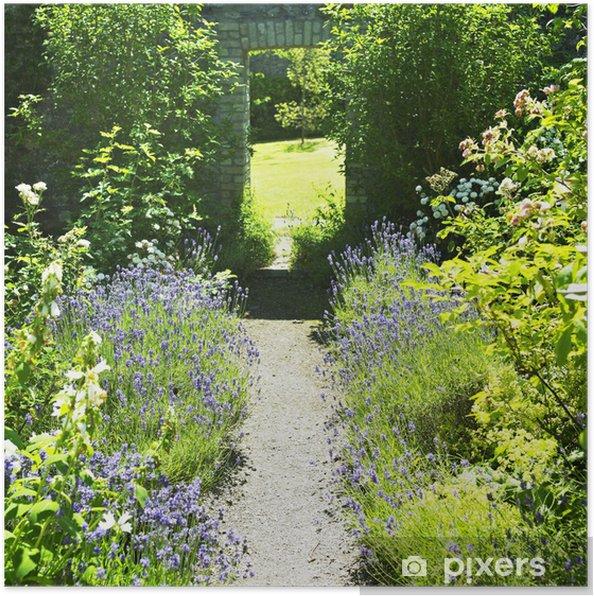Plakat Ballinlough Castle Gardens, Hrabstwo Westmeath, Irlandia - Europa