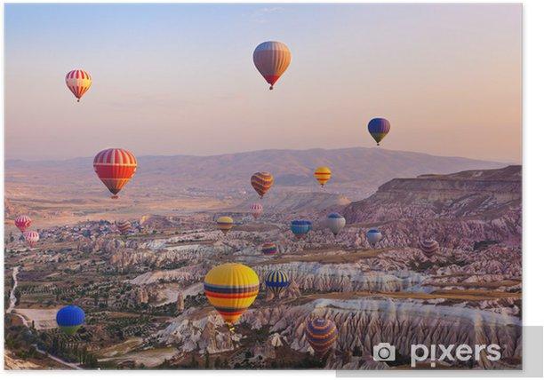 Plakat Balon latający nad Kapadocja indyka - iStaging