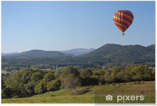 Plakat Balon - Transport powietrzny