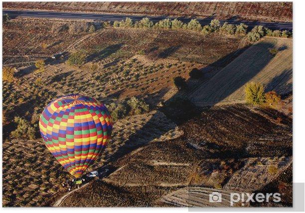 Plakat Balony w Kapadocji, Turcja - Bliski Wschód