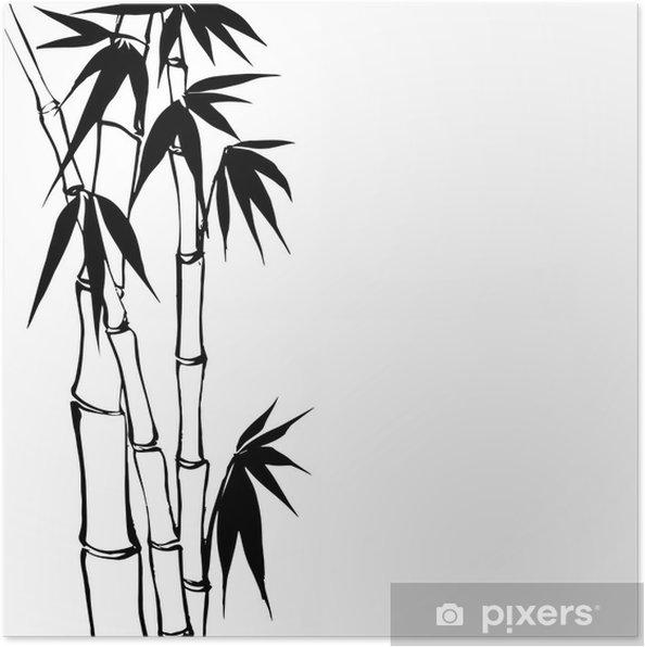 Plakát Bambus - Situace v podnikání