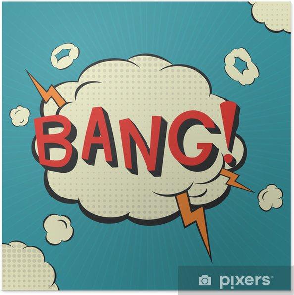 Plakat Bang Comic bąblu - Tematy