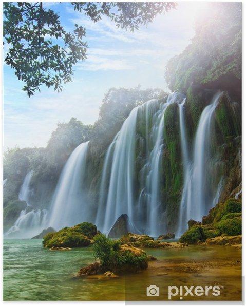 Plakat BanGioc Wodospad w Wietnamie - Tematy