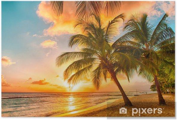 Plakat Barbados - Tematy