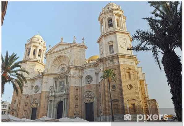 Plakát Barokní katedrála Cadiz - Evropa