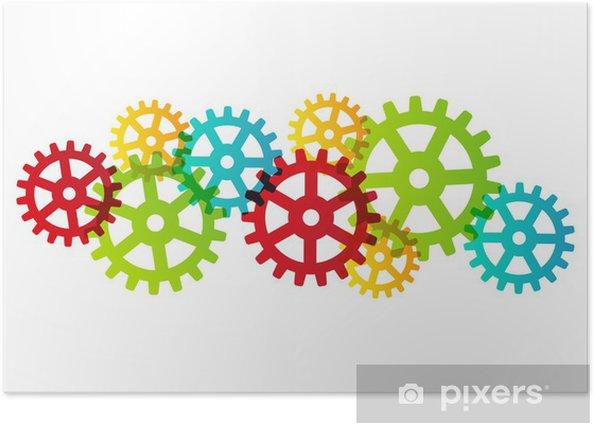 Plakát Barva kola - Pozadí