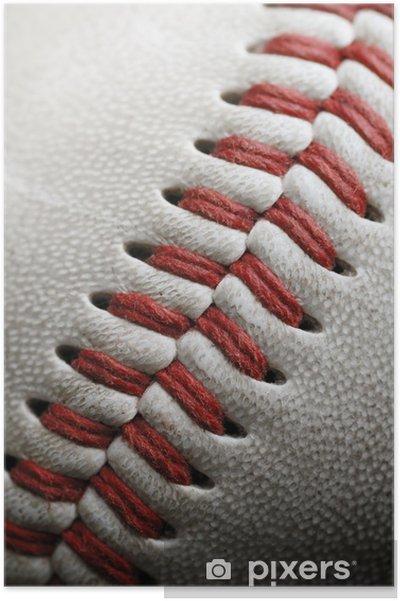 Plakát Baseball textury - Týmové sporty