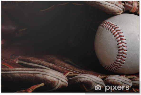 Plakat Baseball - Sporty drużynowe