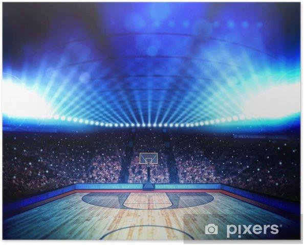 Plakat Basketball arena -