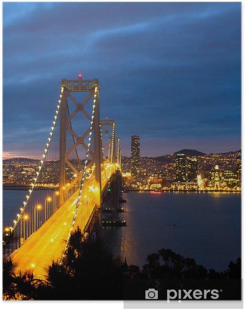 Plakát Bay Bridge, San Francisco California - Témata