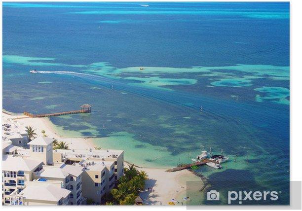 Plakat Beach meksyk - Ameryka