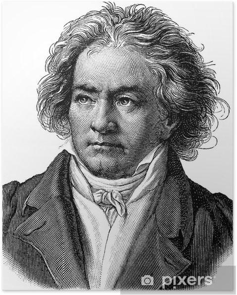 Plakat Beethoven - Mężczyźni