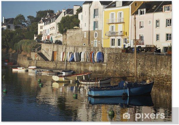 Plakat Belle Ile en Bretagne więcej niż - Wakacje