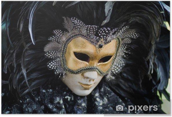 741791f6d Plakát Benátky karneval kostým masky • Pixers® • Žijeme pro změnu