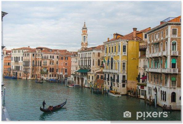 Plakát Benátky pohled na světlé letní den - Památky