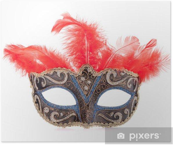 f4bce8d3a Plakát Benátský karneval masky • Pixers® • Žijeme pro změnu