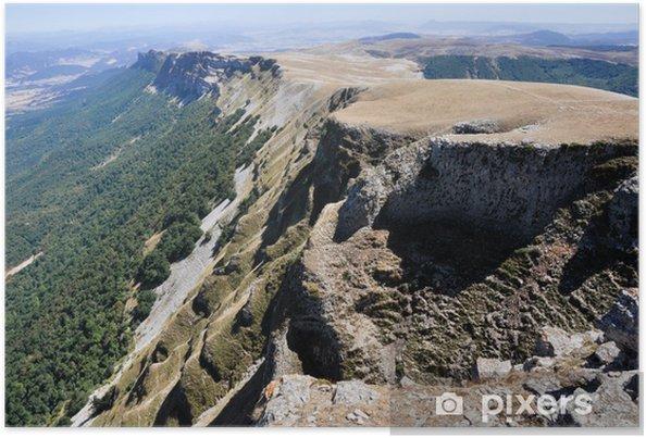 Plakat Beriain, góry San Donato (Nawarra) - Europa