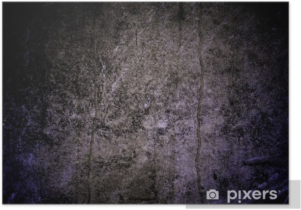 Plakat Beton - Tekstury