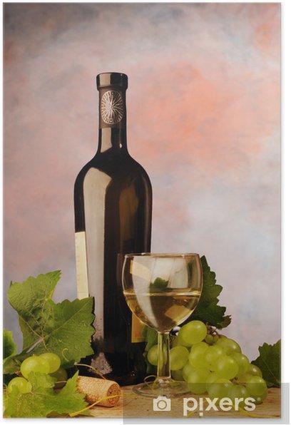 Plakat Białe wino, martwa natura - Tematy