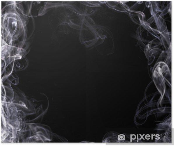 Plakat Biały dym - Tła