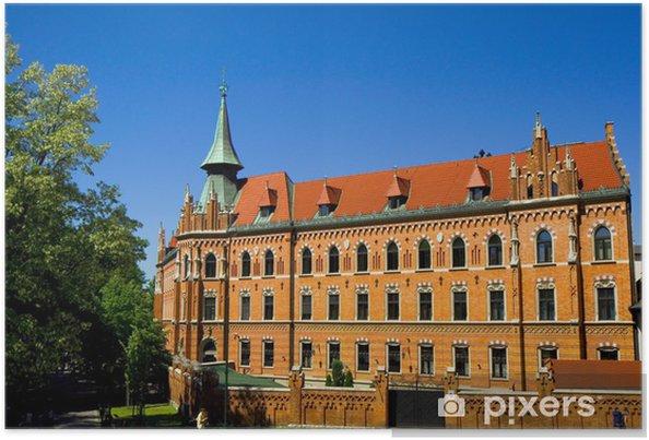 Plakat Bibliothek - Päpstliche Universität Johannes Paul II - Kraków - Europa