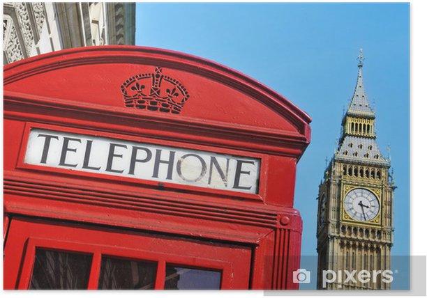 Plakát Big Ben, London, Velká Británie - Témata