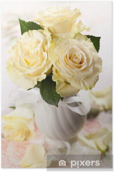 Plakát Bílá růže - Mezinárodní svátky